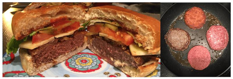 1st Image - Beyond Burger (left), 2nd Image - Beyond Burger (above